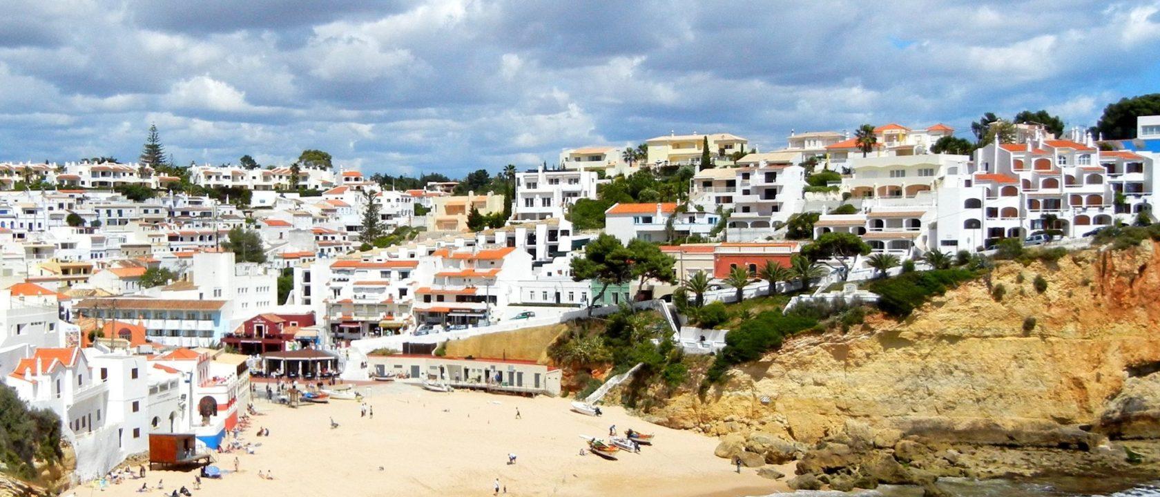 Carvoeiro und Strand
