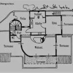 Grundriss Villa V4 Fernao Magalhaes Obergeschoss